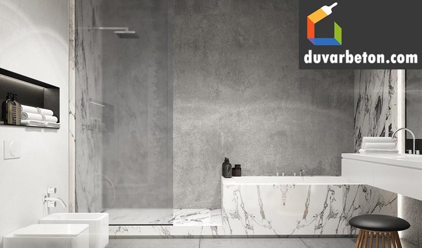 banyo-beton-duvar-gorunumu