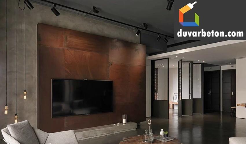 beton-art-duvar-uygulamasi
