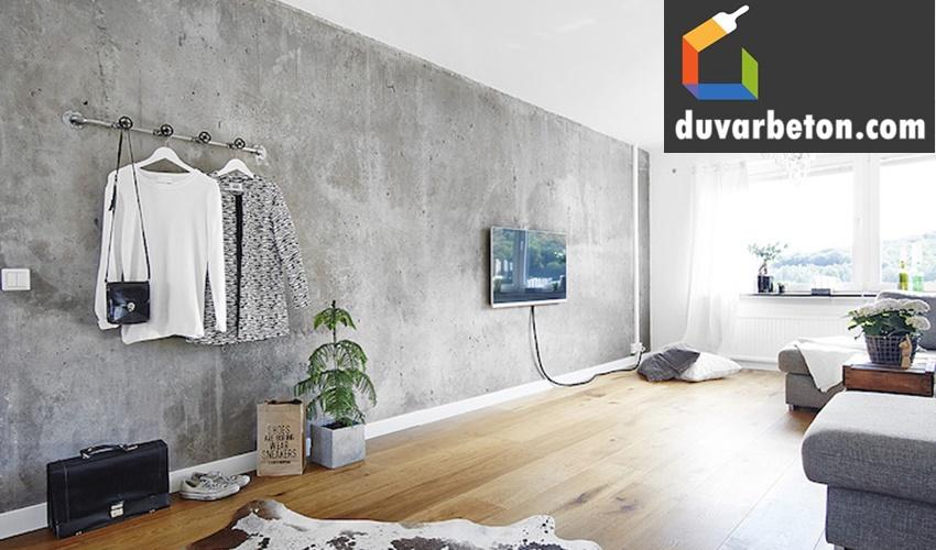 beton-duvar-dekorasyonu
