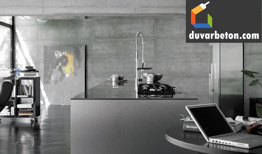 mutfak-beton-gorunumlu-duvar