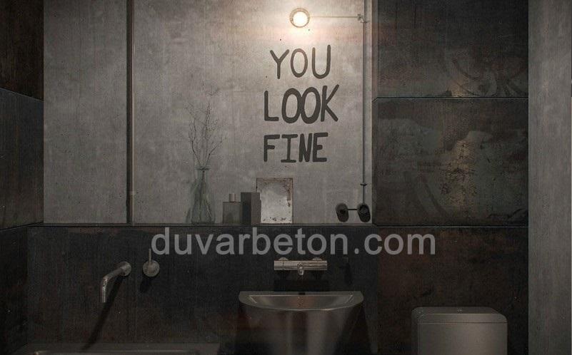 banyo-duvar-dekorasyonu-beton-boya