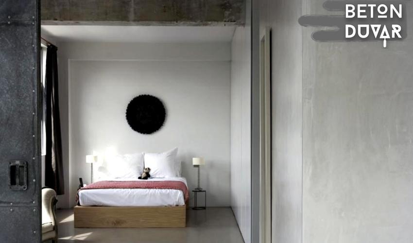 Dekoratif duvar sıvası beton