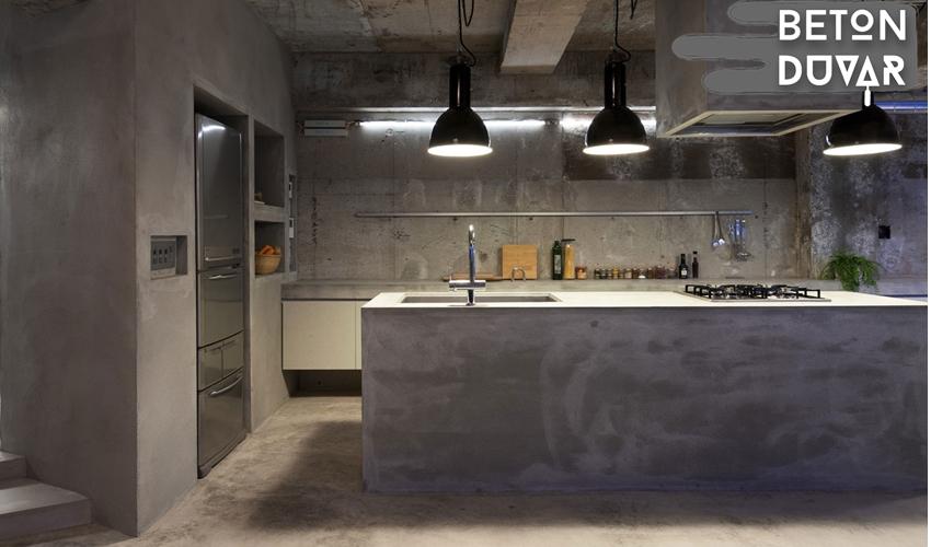 mutfak-brut-beton-duvar-uygulama