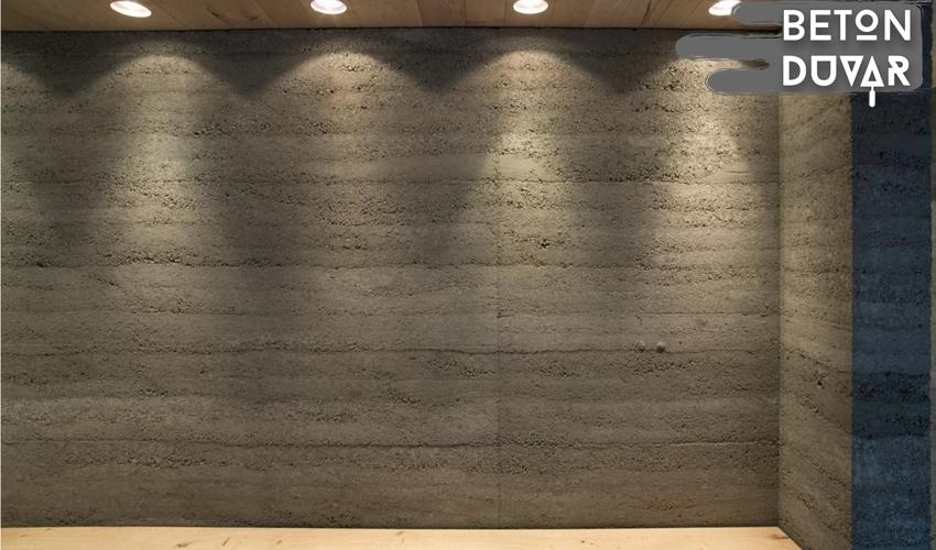ofis-beton-duvar-dekoru