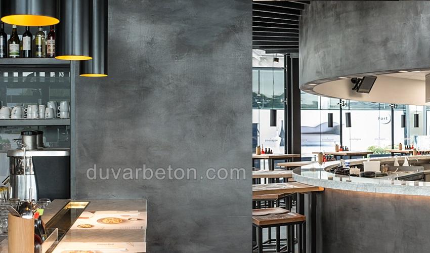 restoran-duvar-beton-gorunumlu-boya
