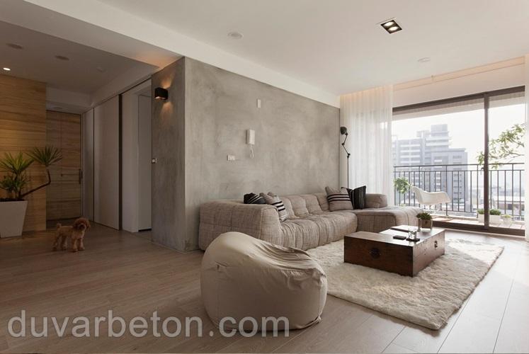 salon-beton-duvar-boyasi-uygulama