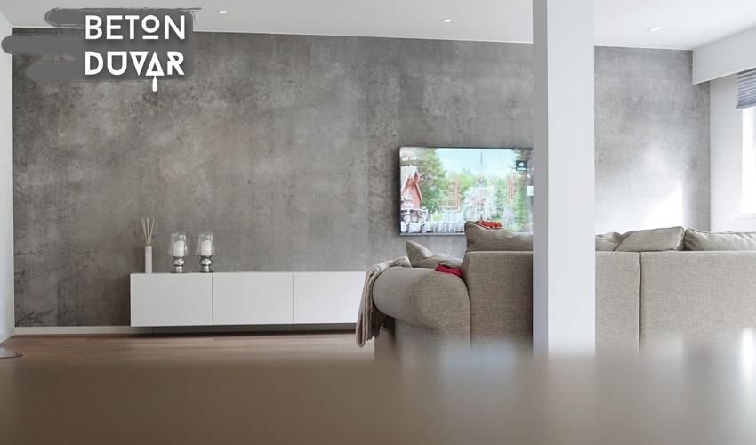 salon-beton-gorunumu-siva