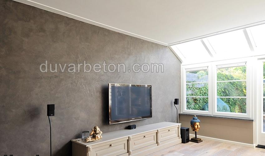 tv-unitesi-beton-duvar-gorunumu