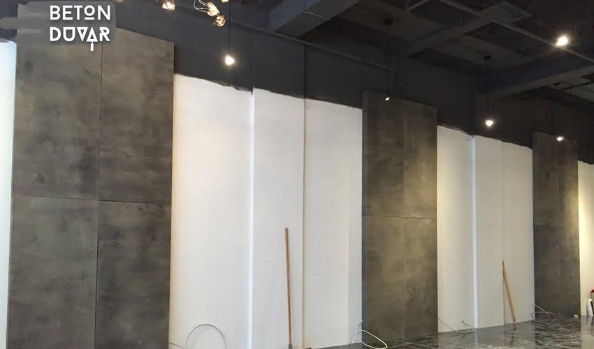 Fuar stand brut beton duva dekorasyonu 2017