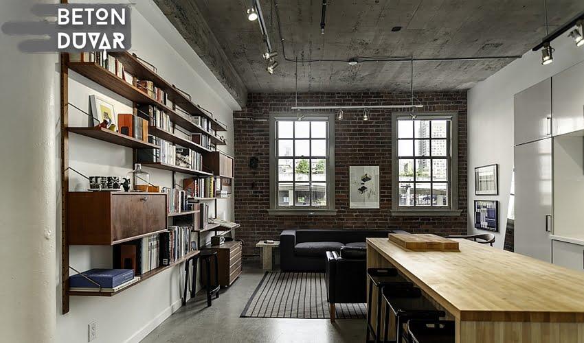 ofis-beton-gorunumu-duvarlar