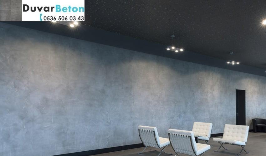 pandomo wall brüt beton görünümlü boya uygulaması