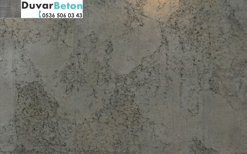 Brüt beton sıva kalekim betonart