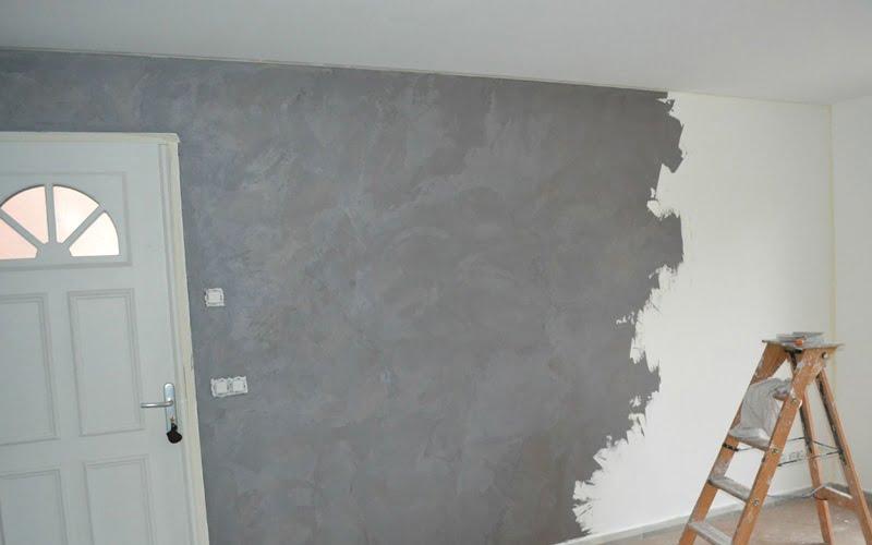 Beton Renkli Duvar Boyası Beton Rengi Duvar Dekorasyonu