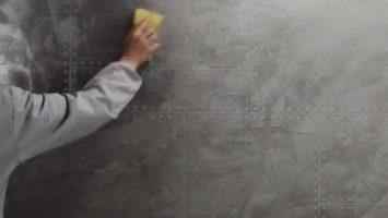 Brüt beton dekorasyonu