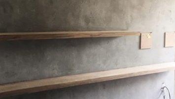 Beton görünümlü duvar sıva