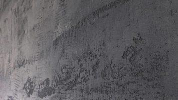 Betonart ile yapılan brüt beton sıva