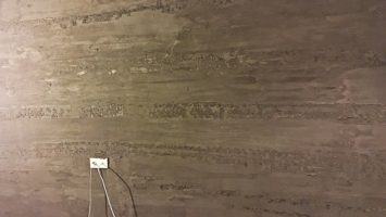 Beton rengi duvar dekoru