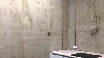 İç mekanlarda brüt beton sıva