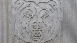 Beton baskı logo