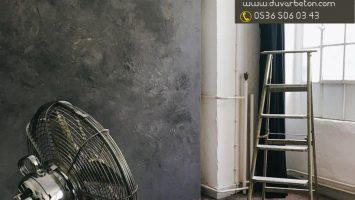 Sıva görünümlü duvar boyası