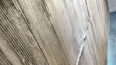 Tavanda beton görünümlü sıva