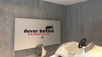 Beton kaplama duvar sıva