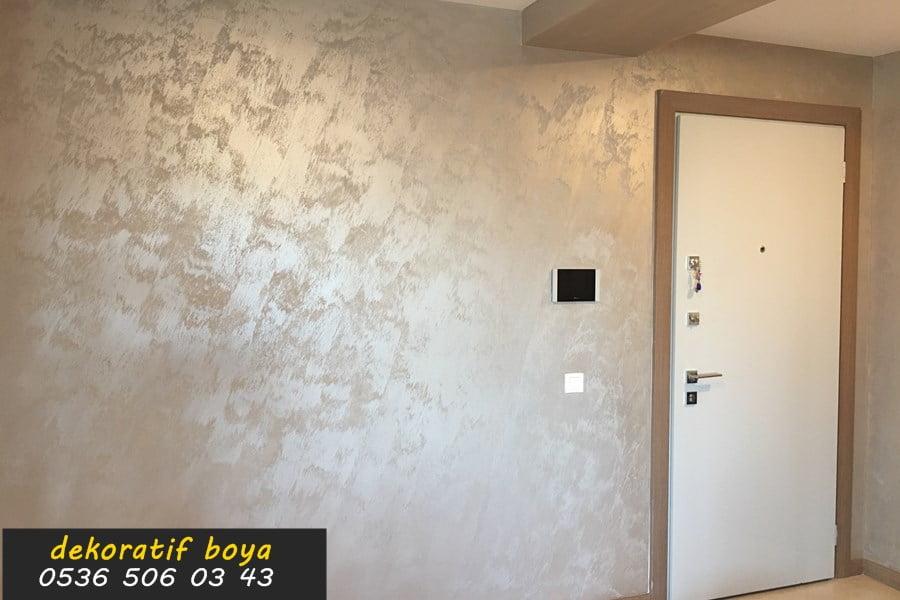 Kumlu Dekoratif Boya Efekt Duvar Boyası Renkleri