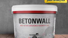 Betonwall sıva